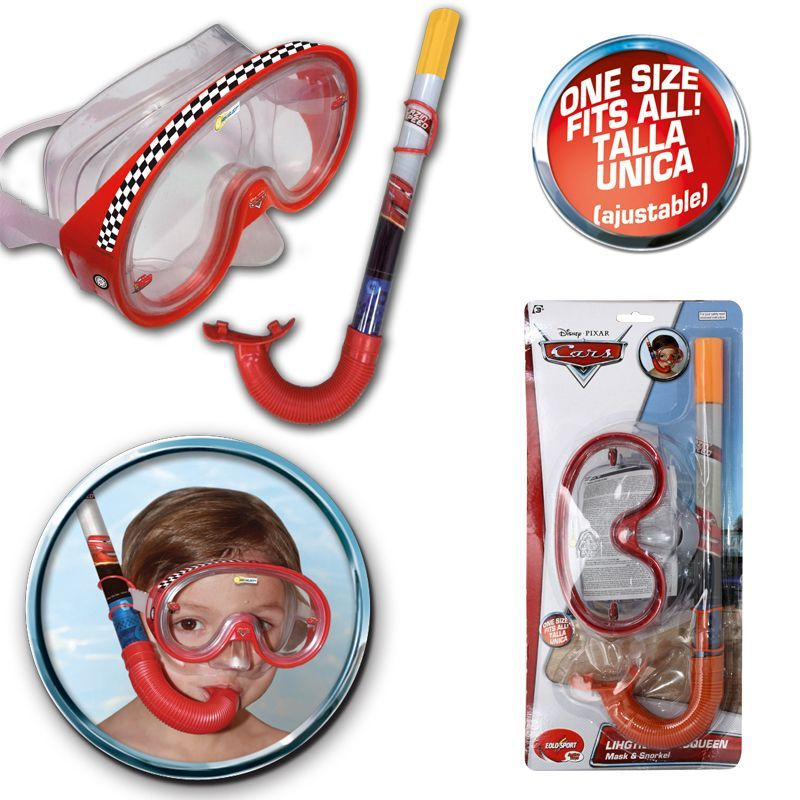 Disney Cars Dive & Snorkel Set