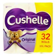 See more information about the Cushelle Toilet Tissue Roll 32 Pack
