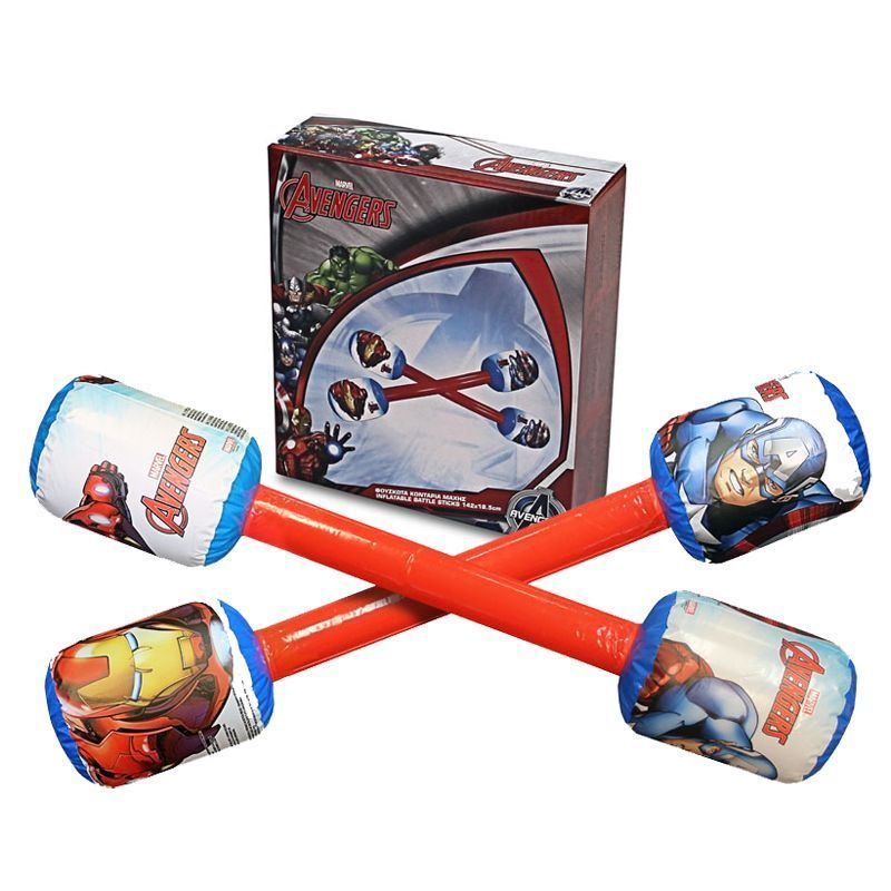 Marvel Avengers Inflatable Duel Sticks in Box