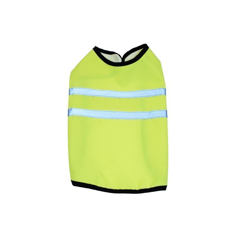 Pet Gear Yellow Hi Vis Dog Jacket (Size 12)