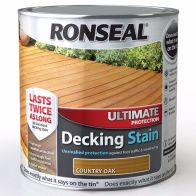 See more information about the Decking Stain Country Oak Ultimate Protection 2 Litre & 25%