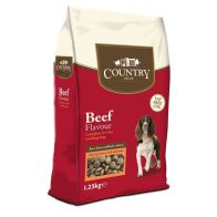 See more information about the 1.25kg Country Value Beef Dog Food