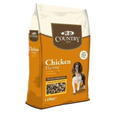 1.25kg Country Value Chicken Dog Food