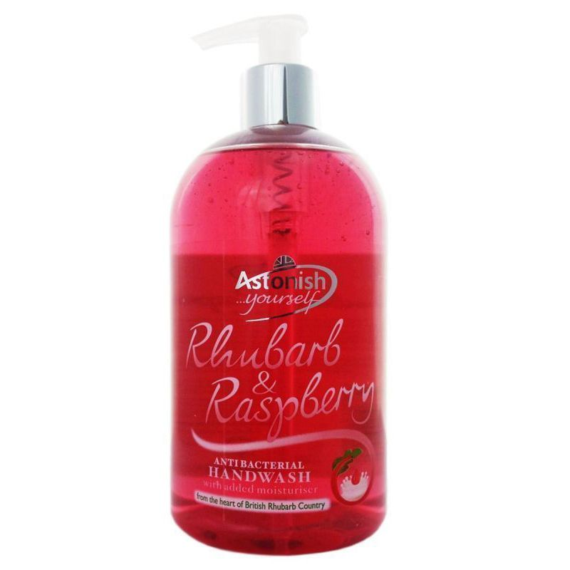 Astonish Rhubarb & Raspberry Antibacterial Handwash (550ml)