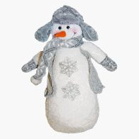 See more information about the Standing Snowman 16x10x38cm