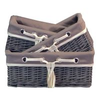 See more information about the Small Brown Willow Basket