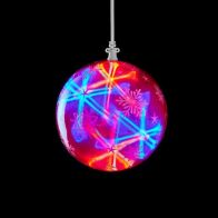 See more information about the LED Multicolour Outdoor Animated Laser Ball Light Mains 15cm