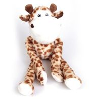 See more information about the 17 Inch Giraffe Squeaky Toy