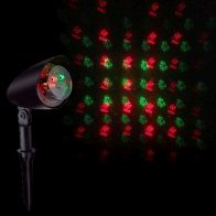 See more information about the Laser Red & Green Outdoor Animated Christmas Figure Projector Mains
