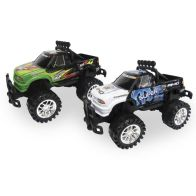 See more information about the Pack Of Two Off Roader Friction Power Cars 30cm