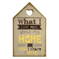 See more information about the My Home House Plaque