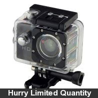 "See more information about the Adventure Pro Waterproof Action Photo & Video Camera 2"" LCD"