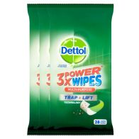 See more information about the Dettol x3 28 Pack Multi Purpose Power Wipes