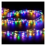 See more information about the 80 LED Multicoloured Indoor Static Fairy Lights Battery 4m