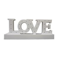 See more information about the White LOVE Letter Light