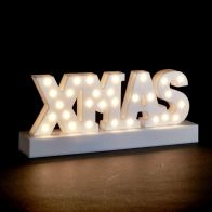 See more information about the White XMAS Letter Light