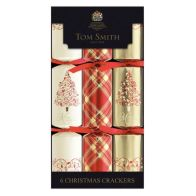 "See more information about the Tom Smith 6 Christmas Crackers (12"") - Red"