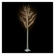 See more information about the 240cm (7 Foot 10 inch) Birch Warm White 144 Light Tree