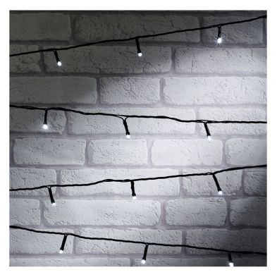 100 LED White Indoor Animated String Light Battery 7.5m
