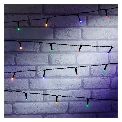 100 LED Outdoor Animated Fairy String Light Battery 7.5m