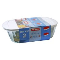 See more information about the Pyrex 2 Piece Candy Storage Set - White