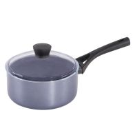 See more information about the Pyrex Gusto Black Diamond Saucepan 20cm With Lid