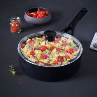 See more information about the Pyrex Gusto Black Diamond Saucepan 26cm with Lid