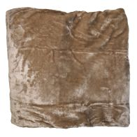 See more information about the Plain Mink Throw (150cm x 200cm) - Mink