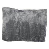 See more information about the Your Home 150 x 200cm Faux Fur Silver Throw