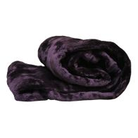 See more information about the Your Home 150 x 200cm Faux Fur Purple Throw
