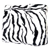 See more information about the Animal Mink Throw (150cm x 200cm) - Zebra Skin
