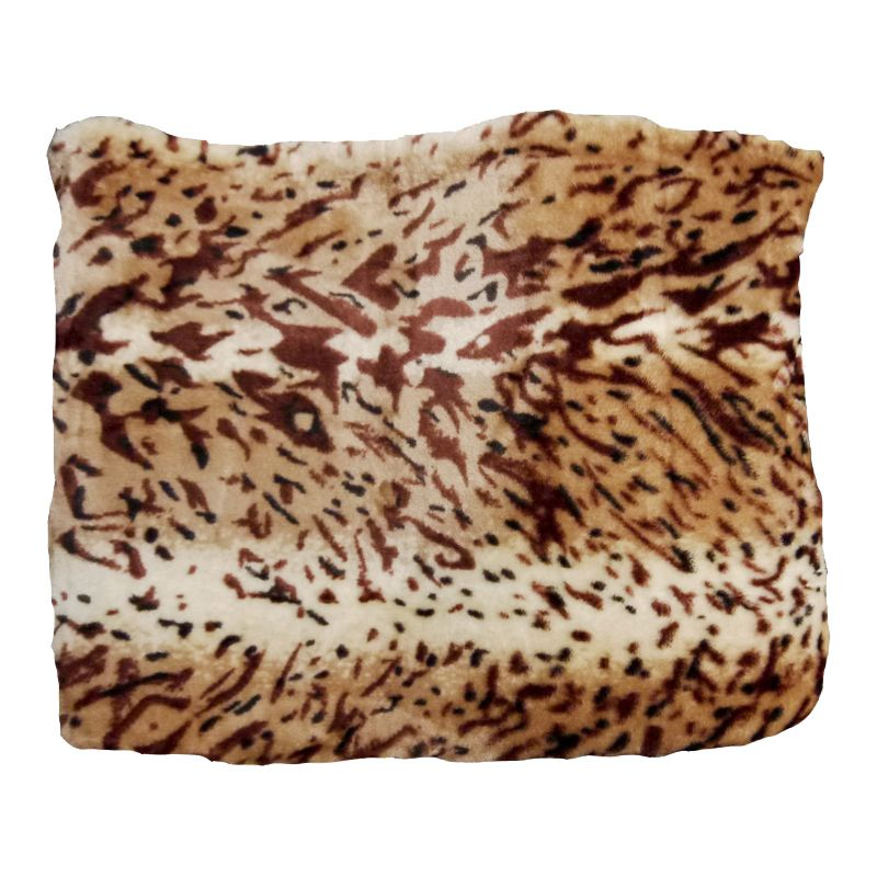 Your Home 150 x 200cm Animal Mink Jungle Skin Throw