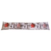 See more information about the Woodland Draught Excluder - Reindeer & Stars Design