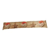 See more information about the Woodland Draught Excluder - Stars & Hearts Design