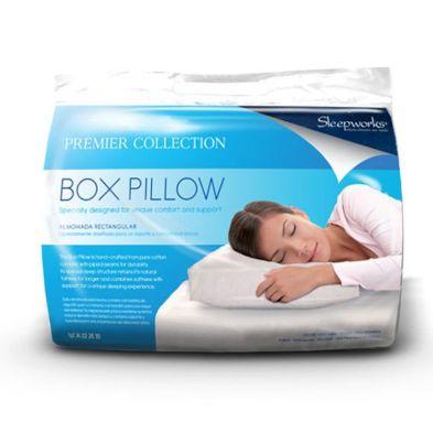 Sleepworks Hollow Fibre Box Pillow