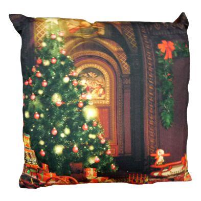 Christmas Print Cushion Christmas Tree