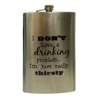 Humorous Over Sized Drinking Flask 1.7 litre