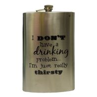 See more information about the Humorous Over Sized Drinking Flask 1.7 litre
