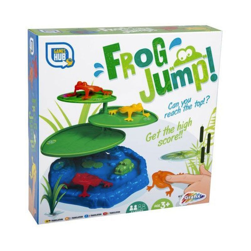 Frog Jump Toy Board Game