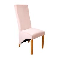 See more information about the Baxter Wave Back Dining Chair Pink