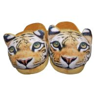 See more information about the 22cm Open Heel Animal Slipper - Tiger
