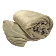 See more information about the Your Home 150 x 200cm Coral Fleece Light Grey Throw