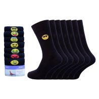 See more information about the 7 Pack Mens Emoji Emotion Cotton Rich Socks