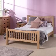 See more information about the Cotswold 4ft 6in Double Bed Frame Oak