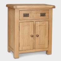 See more information about the Cotswold Sideboard Oak 2 Door 1 Drawer Small