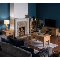 See more information about the Cotswold Oak Large Living Room Set
