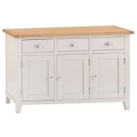 See more information about the Elsing Pine 3 Door Sideboard