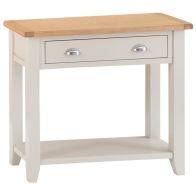 See more information about the Elsing Pine 1 Drawer Console Table
