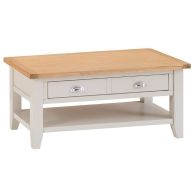 See more information about the Elsing Pine 2 Drawer Coffee Table
