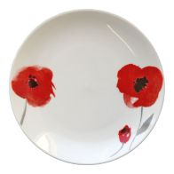 See more information about the Red Floral Side Plate